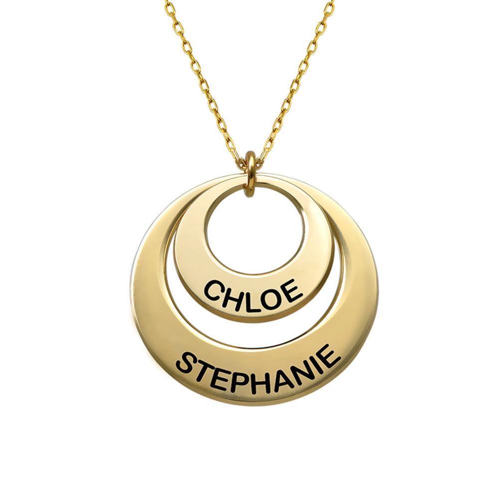 Smycke för mamma - Brickhalsband i 10k guld - 2