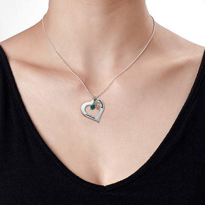 Alla Hjärtans Dags Gåva - Ihåligt Hjärt Halsband - 1