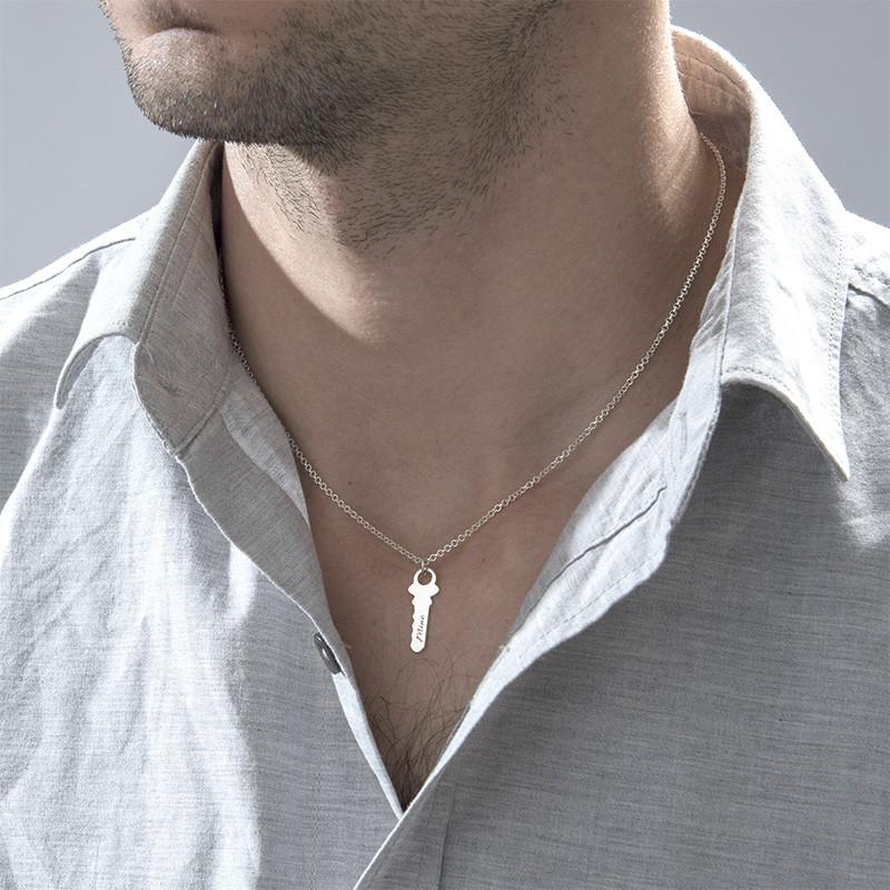 Nyckel till mitt hjärta - Graverat halsband - 4