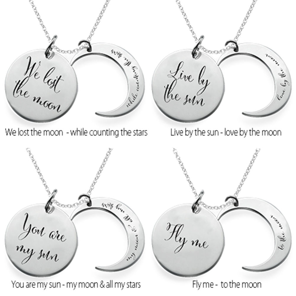 I love you to the moon and back - halsband - 2