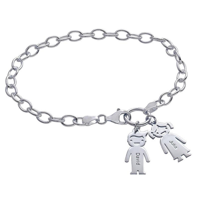 Berlock Armband med Barn hängen