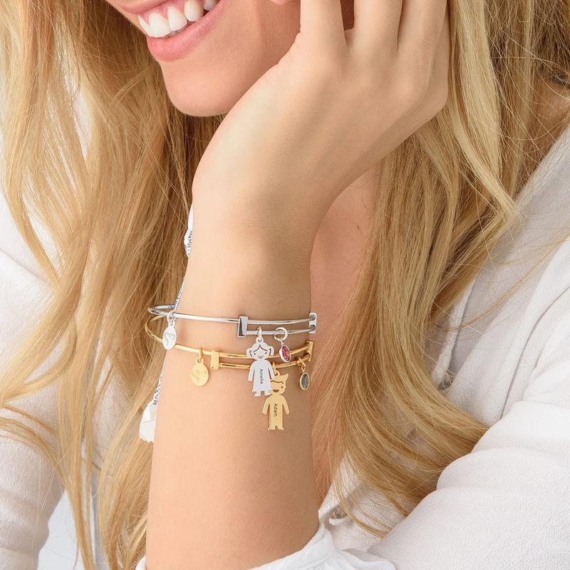 Armband med barnberlocker - 3