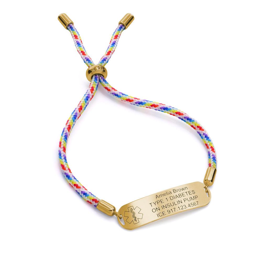 MedicinsktID armband för Barn i 18k Guldplätering - 2