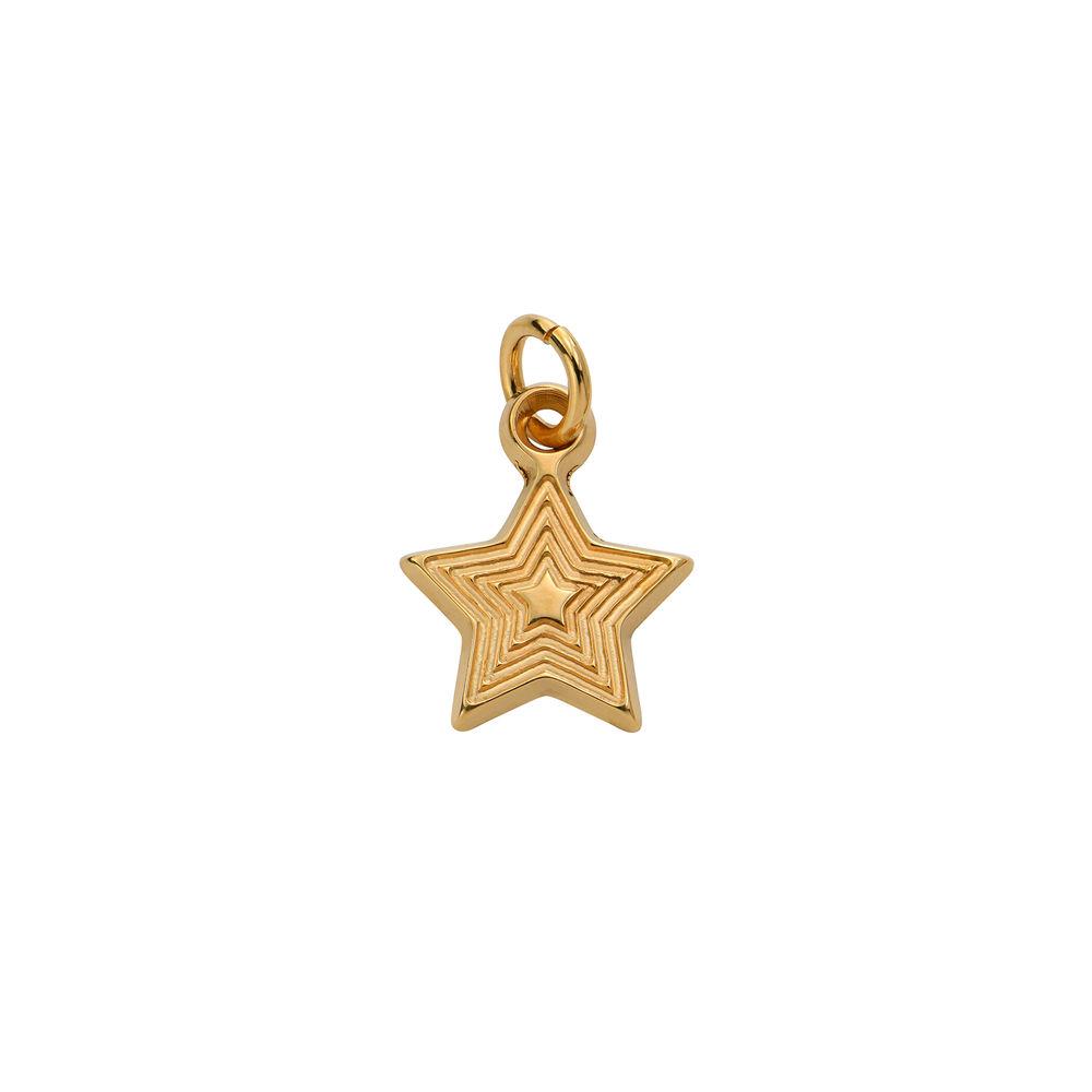 Stjärnberlock i Guld Vermeil till Linda Halsbandet