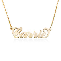 Carrie Style 14K Guld Namnhalsband product photo