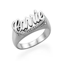 Sterling Silver Namn Ring produktbilder