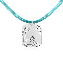 Identitetsbricka i Tågteckning i Sterling Silver produktbilder