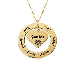 Mormors halsband i 10k guld produktbilder