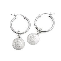 Odeion Bokstav Örhänge i Sterling Silver produktbilder