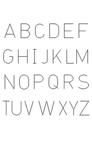 Initial  Font