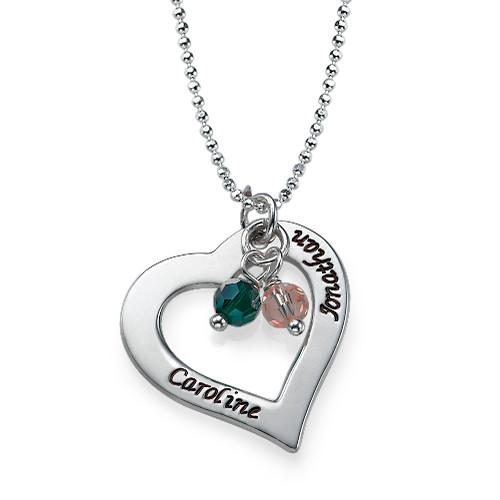 Alla Hjärtans Dags Gåva - Ihåligt Hjärt Halsband