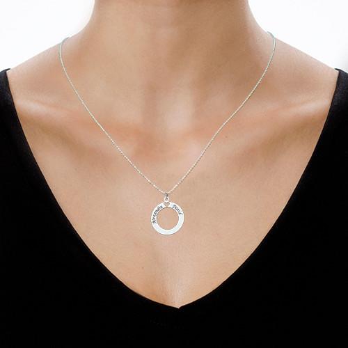Circle of Love Halsband i Silver - 1