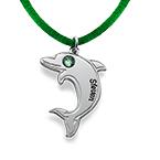 Delfin Halsband i Sterling Silver