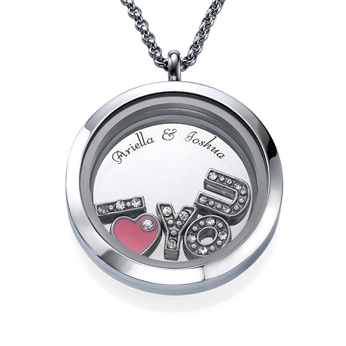 Flytande berlock - I LOVE YOU