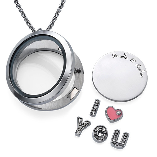 Flytande berlock - I LOVE YOU - 1