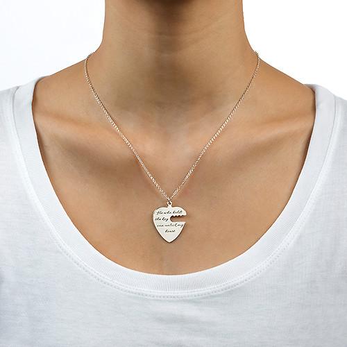 Nyckel till mitt hjärta - Graverat halsband - 3