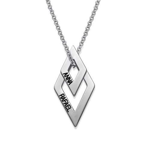 Personligt geometriskt halsband