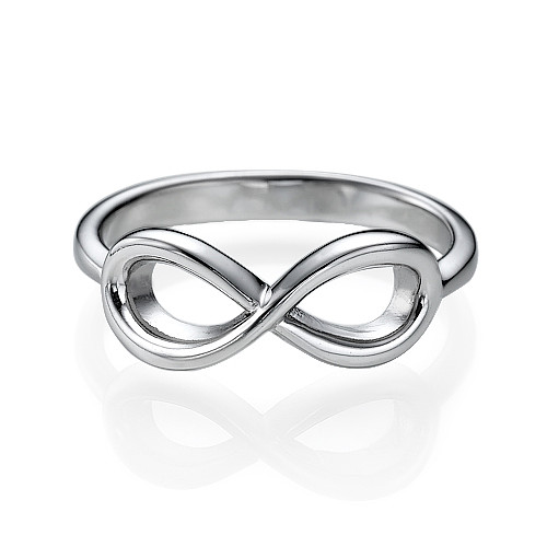 Silver Infinity Ring - 1