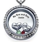 True Love Flytande Berlock Halsband