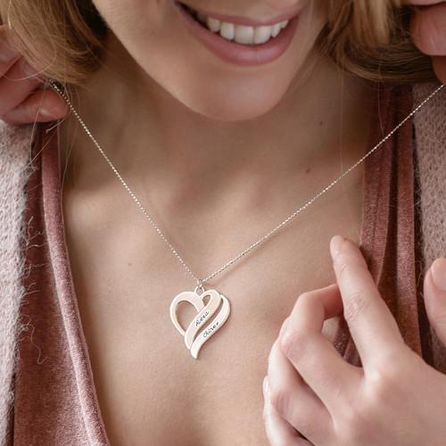 Två hjärtan för evigt i ett halsband - 2