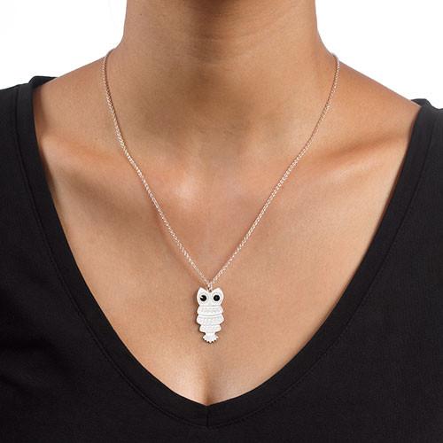 Halsband med uggla - 2