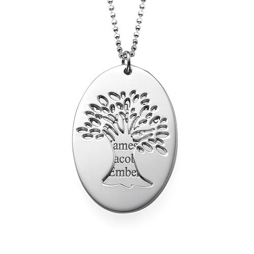 Utskuret livsträds halsband med ingravering