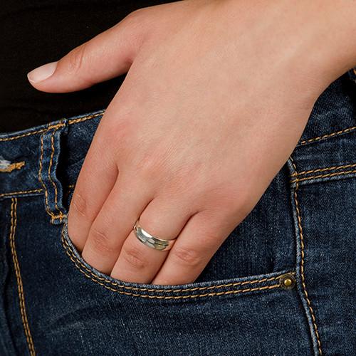 Sterling Silver Arabisk Ring - 1