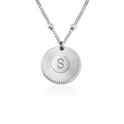 Rayos Bokstavshalsband i Sterling Silver product photo