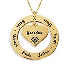 Mormors halsband i 10k guld