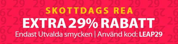 Skottdags REA - Endast en gång var 4:de år! 29% rabatt den 29/02