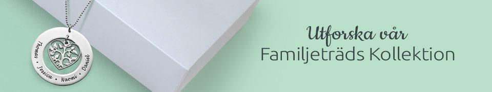 Familjeträd Smycke