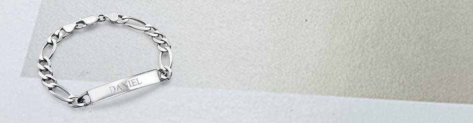 Elegans för Herrar: Kollektionen av Armband med Gravyr