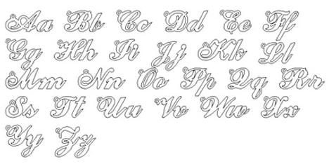 Carrie Font Style