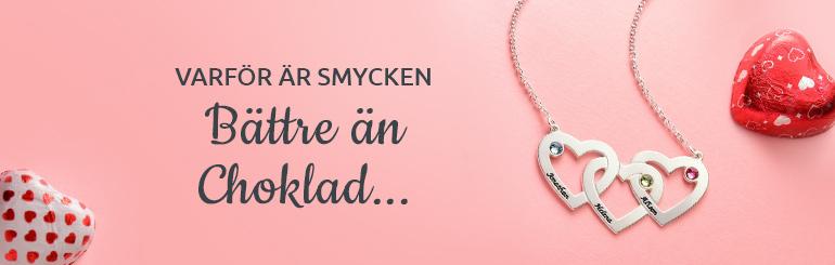 10 skäl till varför smycken är en bättre Alla hjärtans dag gåva än choklad