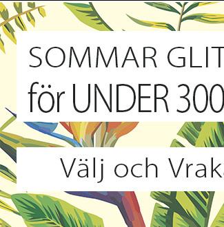 Sommar med vrakpriser! Under 300 kr sommarens essentiella smycken!