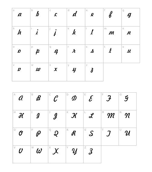 Akryl halsband font