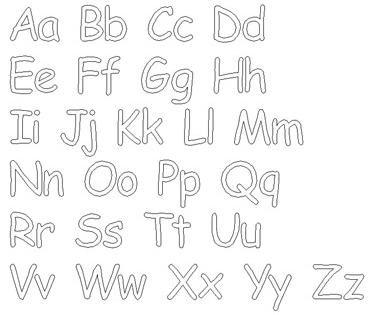 Comics Font Style