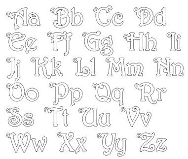 Tinker Bell Font Style