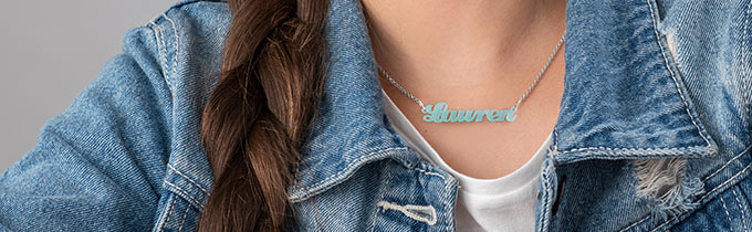Kids Name Necklace