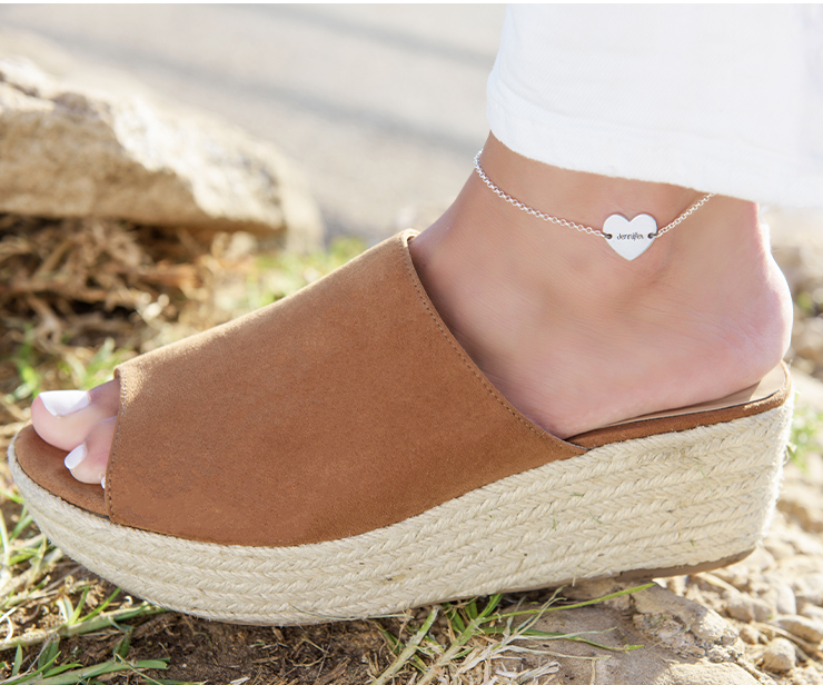 The biggest jewellery trend of summer 2019: ankle bracelets