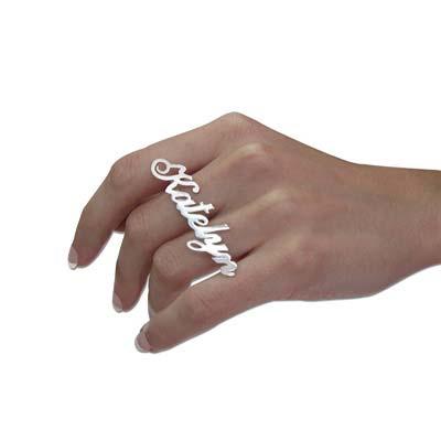 Two Finger Name Ring - 1 - 2