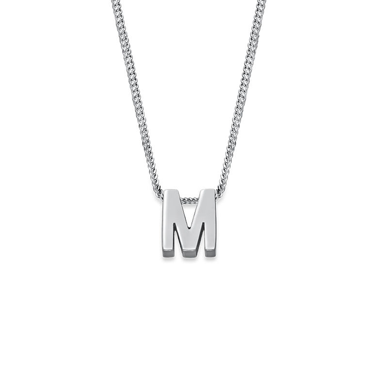 Personalised Couple Initial Necklace - 2