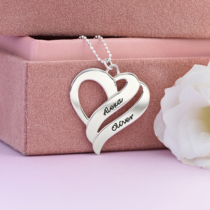 Two Hearts Forever One Necklace - 3