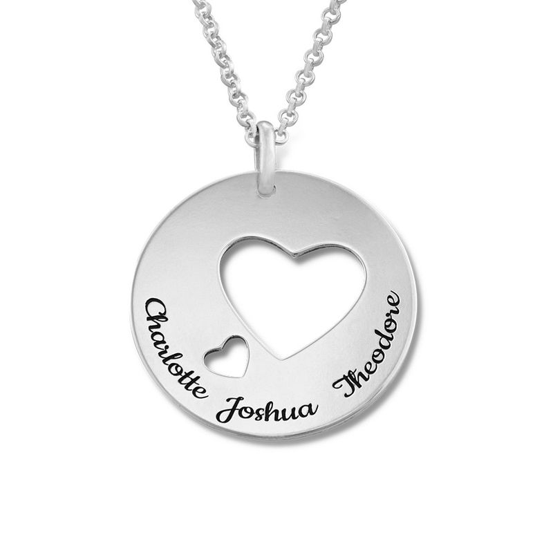 Love Circle in Silver