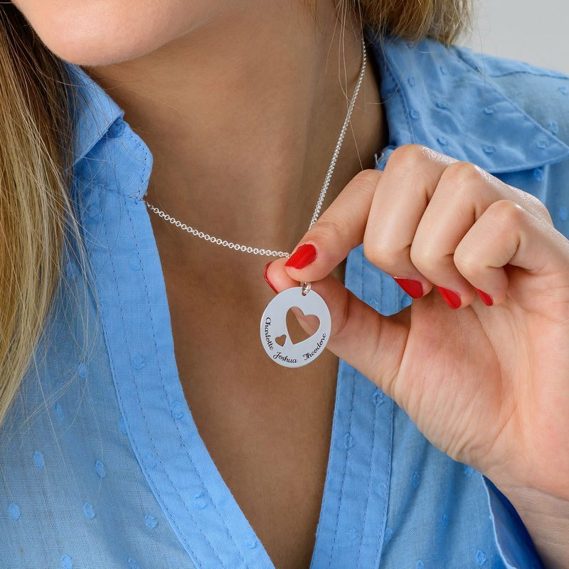 Love Circle in Silver - 4