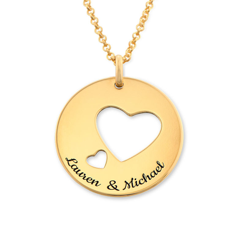 Love Circle in Gold Plating