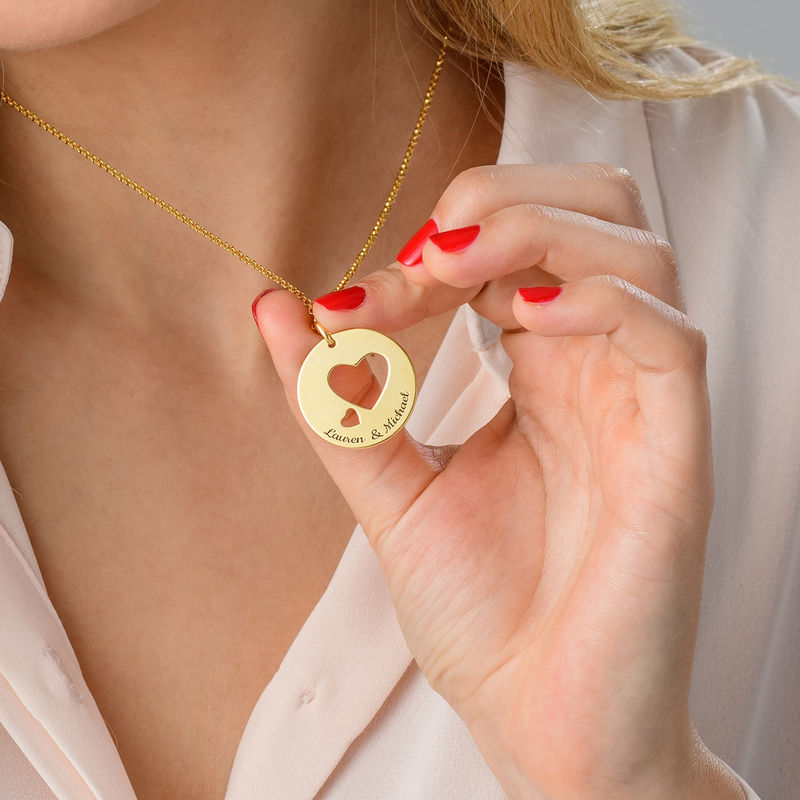 Love Circle in Gold Plating - 2