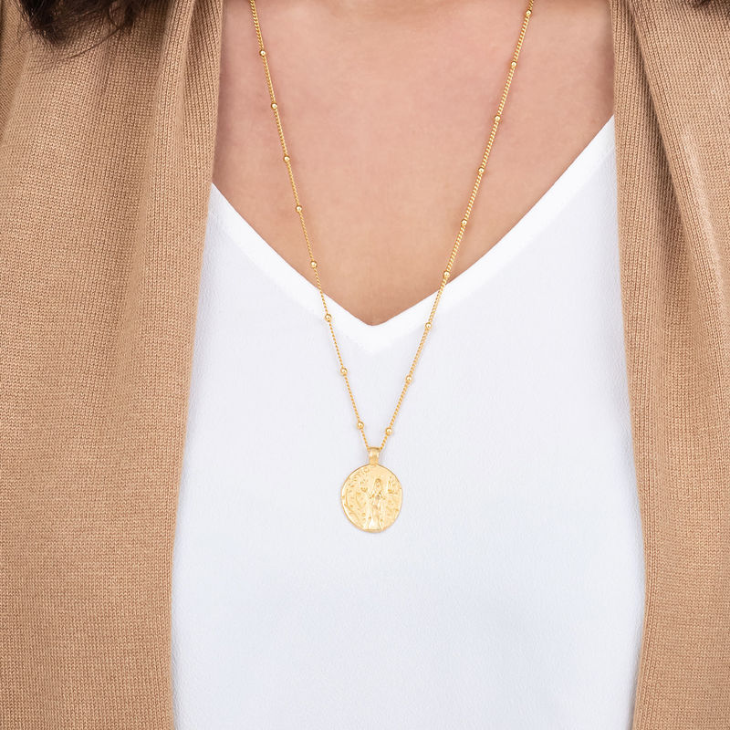 Hestia Coin Necklace in Gold Plating - 1 - 2 - 3