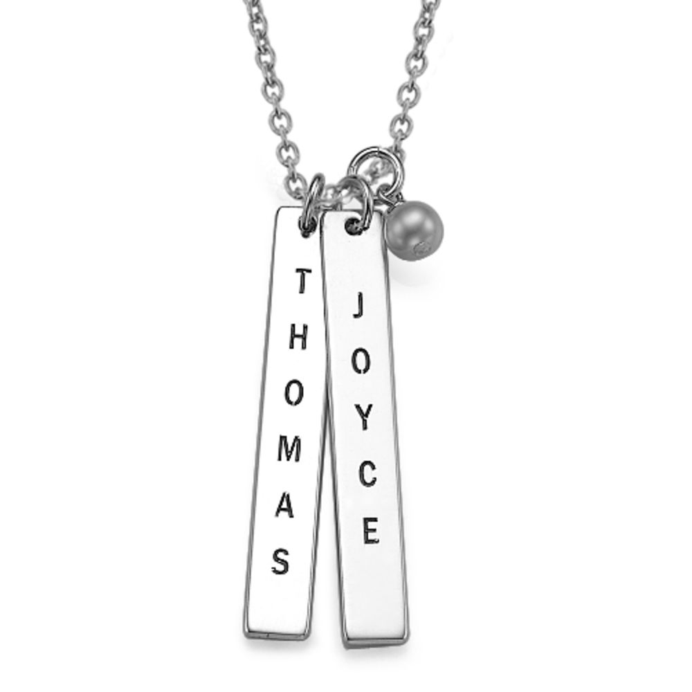 Customised Name Tag Necklace