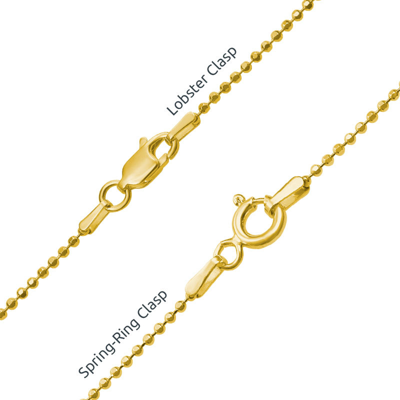 Heart Family Tree Necklace with Gold Plating - 2
